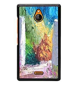 Colourful Painting 2D Hard Polycarbonate Designer Back Case Cover for Nokia X2 Dual SIM :: Nokia X2 RM-1013 :: Nokia X2DS