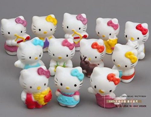 Cute-Hello-Kitty-Lovely-Mini-PVC-Figure-Toys-Dolls-Girls-Toys-Classic-Toys-12pcsset-kukull-Veprimi-Figura-heronj-femije