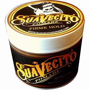 Suavecito Pomade Firme/Strong Hold 4 oz. (pack of 3)