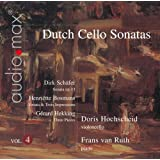 Dutch Cello Sonatas, Vol. 4