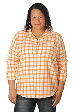 Ug apparel women 39 s plus size university of tennessee for College button down shirts