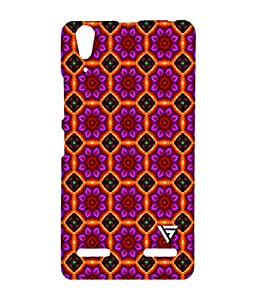 Vogueshell Colorfull Pattern Printed Symmetry PRO Series Hard Back Case for Lenovo A6000