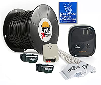 PetSafe Rechargeable In-Ground Dog Fence - 500 Feet of 16 Gauge Upgraded eXtreme Wire