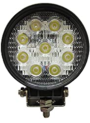 RR's Flood Beam 27 W [9x3w] White Light, Auxillaray LED lamp for cars and bikes