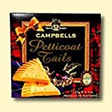 Campbells Pure Butter Petticoat Tails Shortbread Biscuits Twin Pack - Handmade In Scotland