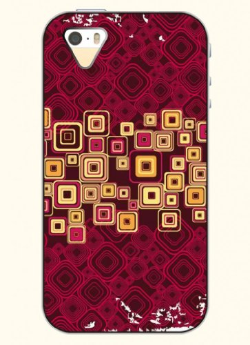 Oofit Phone Case Design With Modern Lattice Structure For Apple Iphone 5 5S 5G