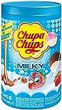 Chupa Chups Milky Piruletas, 100 Unidades, 1200g