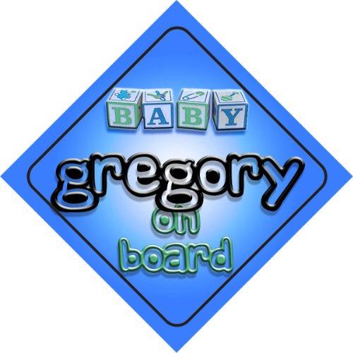 gregory-on-board-baby-boy-auto-a-forma-di-cartello-regalo-per-bambini-e-neonati
