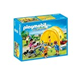 PLAYMOBIL Summer fun - Family camping trip - 5435 -With the Family Camping Trip from Playmobil, kids can recreate holiday fun with this tent (5435)