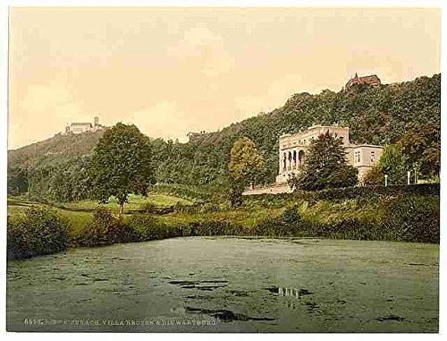 wartburg-and-villa-reuter-thuringia-a3-box-canvas-print