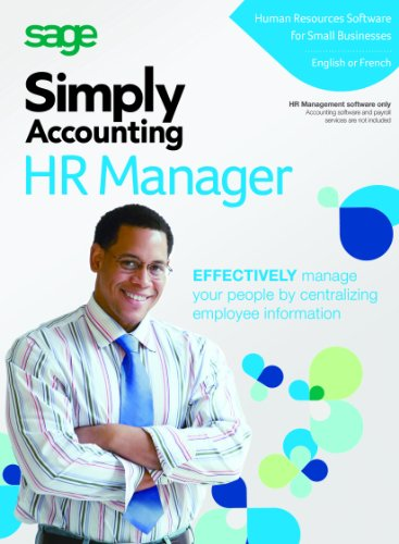 Simply Accounting by Sage HR Manager
