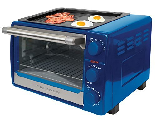 Big Boss 11 in 1 oven Combo BLUE. roasts, grills, bakes, broils, toasts, fries, and more! (Toaster Oven Blue compare prices)