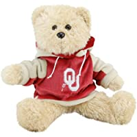 "Oklahoma Sooners 8"" Fuzzy Hoody Bear by Forever Collectibles"