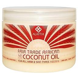 Everyday Coconut, Fair Trade African Coconut Oil, 11 oz (312 g) - 2pc