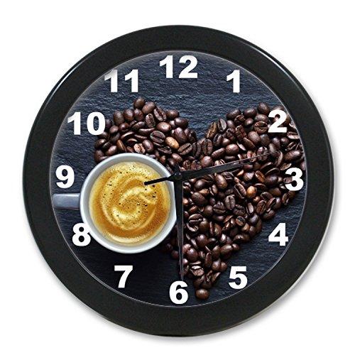 Coffee Shop Wc246B New Fashion Wall Clock Print Art Home Office Decor Bar