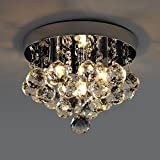 Kusun-Modern-LED-Crystal-Ceiling-Light-Flushmount-Chandelier-Lighting-3-x-3W-LED-G9-for-Study-Room-Dining-Room-Bedroom-Living-Room-KS005-3