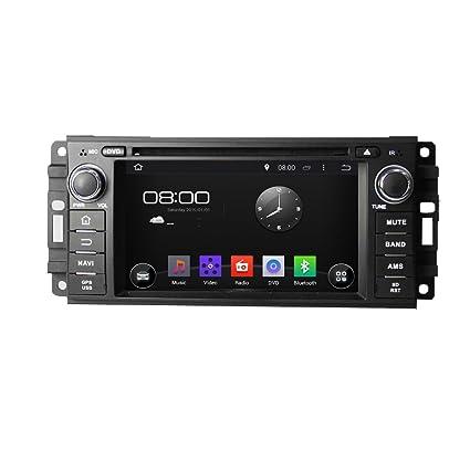 Nouveau Android 4.4 Autoradio DVD GPS Système de Navigation Stéréo Lecteur DVD Voiture avec 6.2 pouces Écran Capacitif HD pour 2005 2006 2007 Chrysler 300C Dodge Jeep Séries