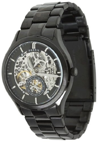 FOSSIL Ansel Automatic Stainless Steel Watch Black