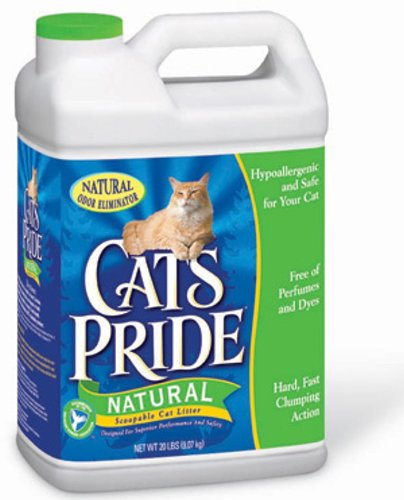 Cat's Pride Natural Scoopable Cat Litter Jug, 20-Pound (Amazon Cat Litter compare prices)