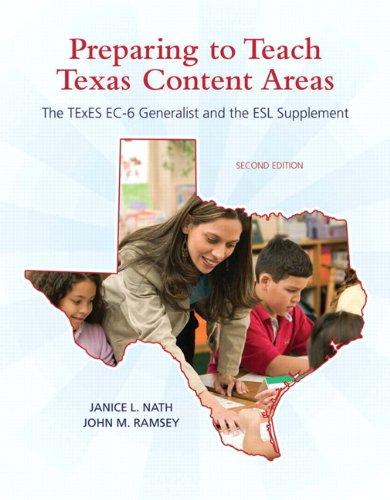 Preparing to Teach Texas Content Areas: The TExES EC-6...