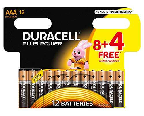 Duracell-Batterie-Plus-Power-Micro-AAA-8er-4-gratis-Sonderpack-12-Batterien