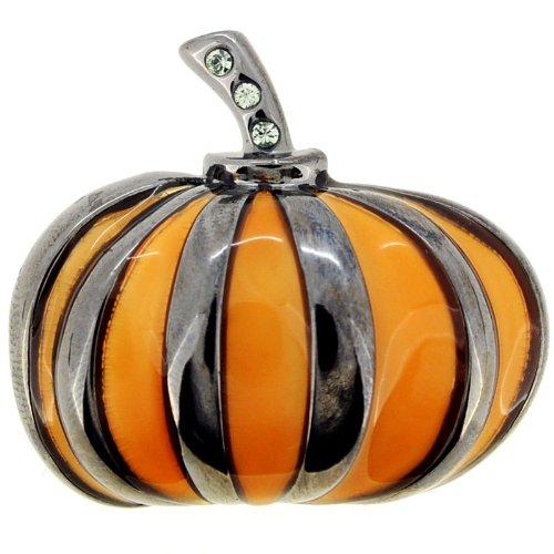 Halloween Enamel Pumpkin Pin Brooch