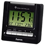 Hama Reise Funk Wecker RC200 (Thermometer,...