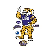 Mike the Tiger Louisiana State University Mascot Wall Decal