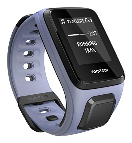 Tomtom Spark Music - Reloj deportivo, color morado, talla S