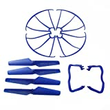 Coolplay-Syma-X5-X5C-X5C-1-Spare-Parts-Main-Blade-Propellers-Propeller-Protectors-Blades-Frame-Landing-Skid-Included-Mounting-Screws-for-RC-Mini-Quadcopter-Toy
