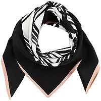 (コーチ)COACH 公式 ブラック アンド ホワイト パッチワーク スカーフ