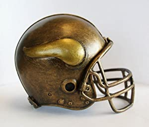 NFL Minnesota Vikings Desktop Helmet Statue by Wild Sports