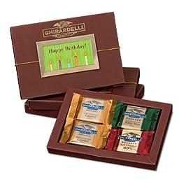 Happy Birthday Folio Gift Box with SQUARES Chocolates