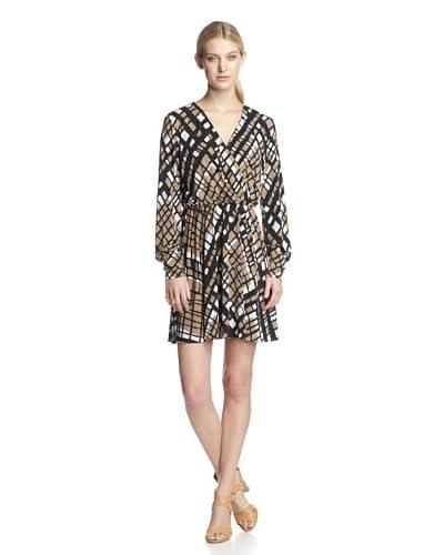 W118 by Walter Baker Women's Julianne Dress  [Beige Check]