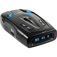 Whistler RD-50x Radar Detector with Blue OLED Display (Black)