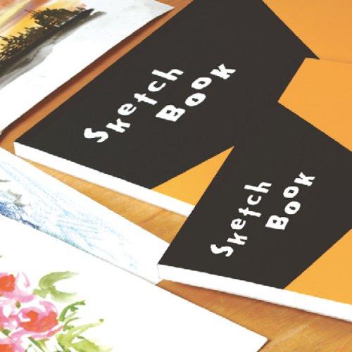 マルマン スケッチブック 天のり製本 図案印刷シリーズ A4 並口画用紙 50枚 S252