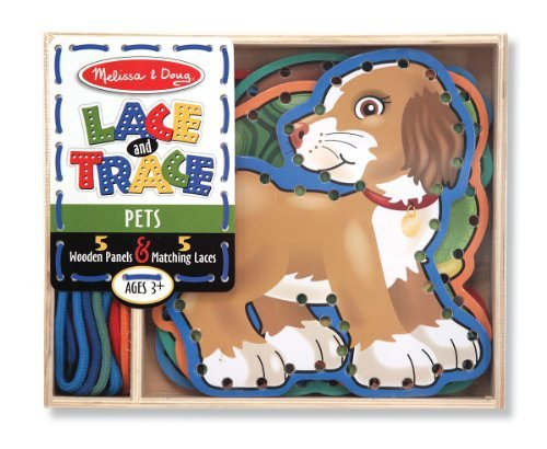 Melissa & Doug Lace and Trace Pets Model: 3782 - 1