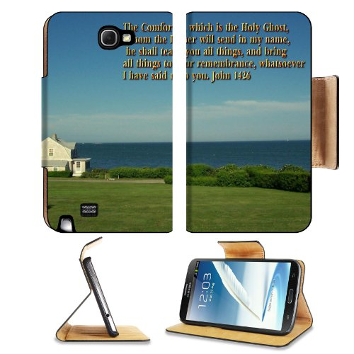 John Comforter Holy Father Teacher Samsung Galaxy Note 2 N7100 Flip Case Stand Magnetic Cover Open Ports Customized Made To Order Support Ready Premium Deluxe Pu Leather 6 1/16 Inch (154Mm) X 3 5/16 Inch (84Mm) X 9/16 Inch (14Mm) Liil Note 2 Cover Profess front-649485
