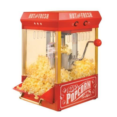 Nostalgia KPM200 Vintage Collection 2.5-Ounce Kettle Popcorn Popper