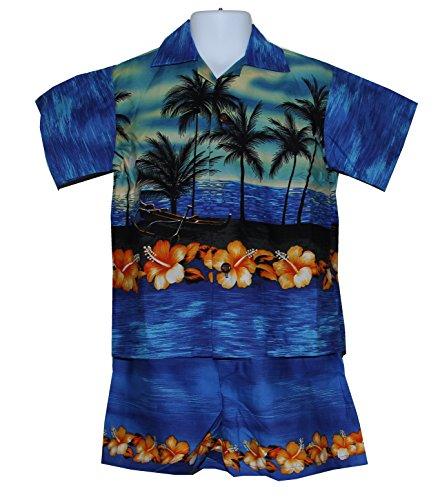 Made in Hawaii ! Boy's Assorted Hawaiian Aloha
