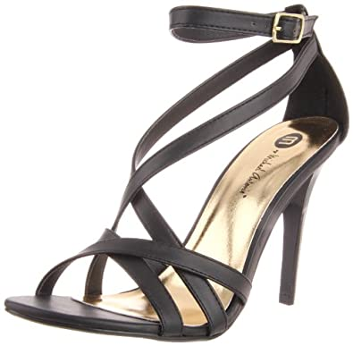 Michael Antonio Women's Jennings Sandal,Black,8.5 M US