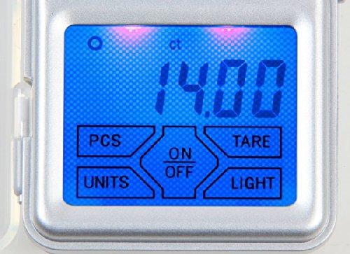 Domo DO-9096W Balance Electronique Pèse Jusqu'à 200 g