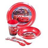 Kids 3pc Melamine Breakfast Set [002775] (Cars Lightening Mcqueen)
