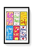 PosterGuy To Do List Todolist,List,Letgo,Sleepmore,Sleep,Family,Pray,Holidays,Peace,Hearts,Bright,Colorful Framed Poster
