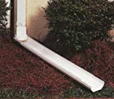 Downspout Extension (White) (3&#039; to 6&#039; long)