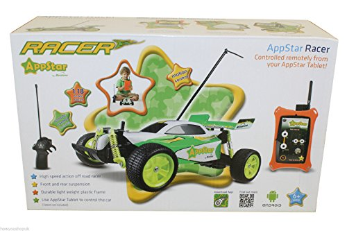 51 z0bb%2B06L Appstar RC Car Racer Radio Control Off Road Stunt Buggy Remote & Tablet Motion Ipone Ipad Android Compatible