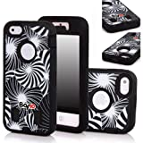 Bayke Brand 3in1 Armorbox Armor Defender Bumper Case for Apple Iphone 5C (5 & 5S Not Fit) Fashion Dream Catcher...