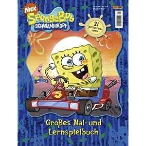 SpongeBob Schwammkopf, Großes Mal- und Lernspielbuch
