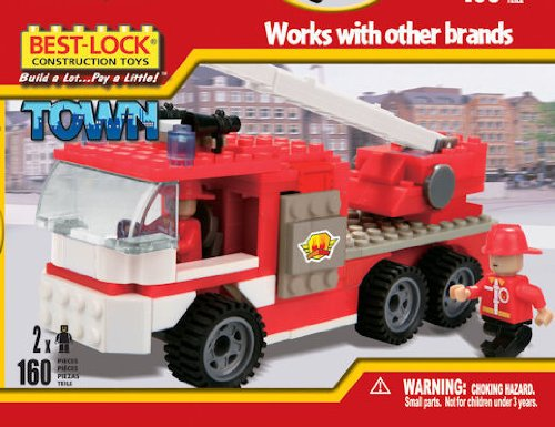 Best-Lock Construction Fire Engine Truck