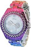Brand New Disney Mickey Mouse Women's MK2103 Crystal Bezel Hot MultiColor Bracelet Watch IGN